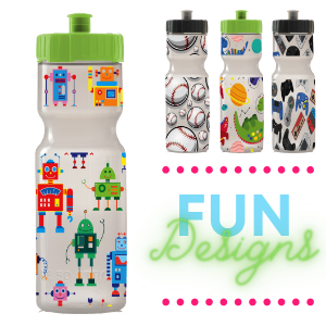kids water bottles video games girls boys school kid tween teen gifts