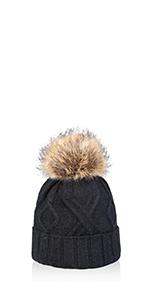 women girls knit hat