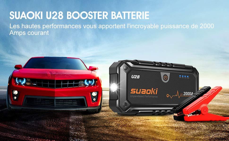 Notre avis sur le Suaoki U28, un booster de batterie ultra