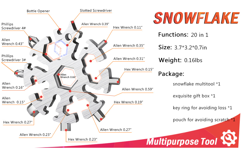 Specification of Snowflake Tool all in one