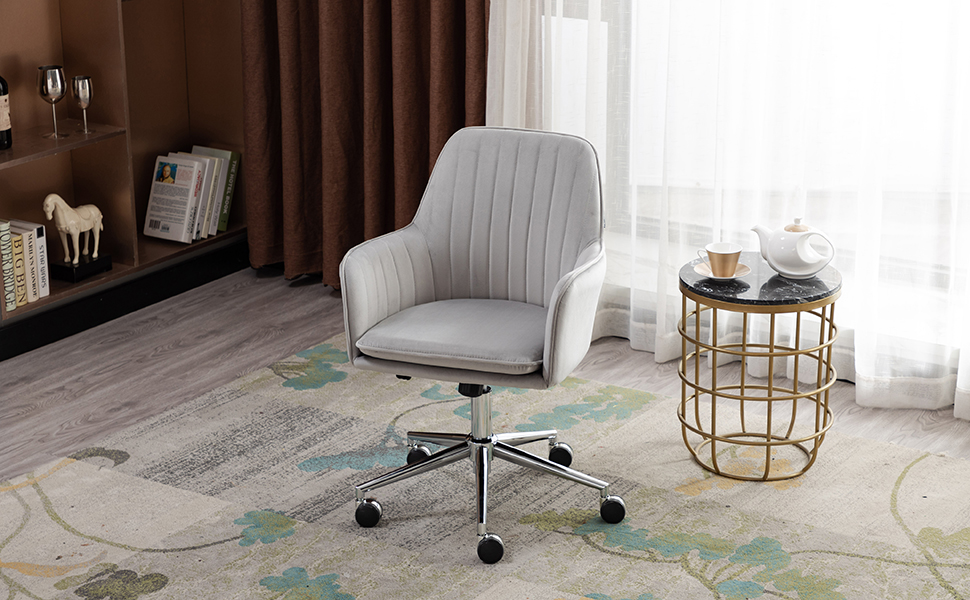Grey Home Office Chair