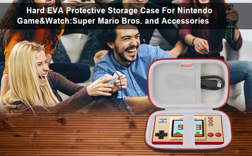 BOVKE Carrying Case For Nintendo Game&Watch Consoles