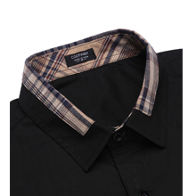 Men's Cotton Casual Long Sleeve Dress Shirt