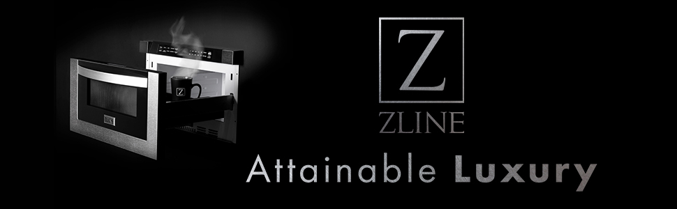 ZLINE Kitchen and Bath, ZLINE Microwaves, Microwave Oven, Convection Microwave, Stainless Steel