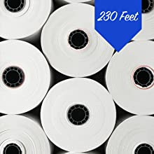 """3-1/8"""" x 230 thermal paper roll"""
