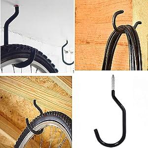 DANCEPANDAS 10 Ganchos para Bicicletas,bicicleta gancho Uso Pesado ...