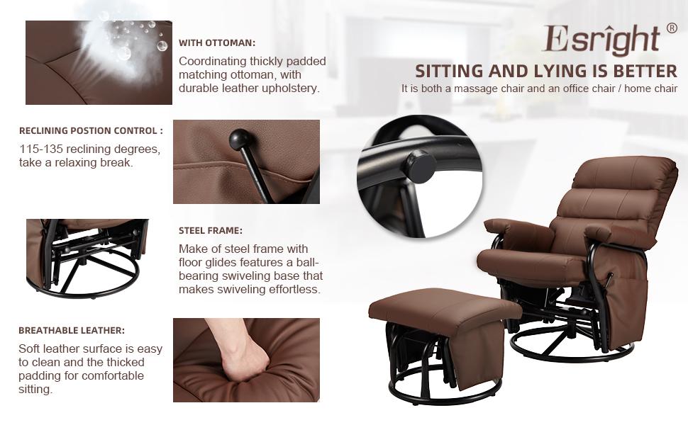 ergonomic recliner chair