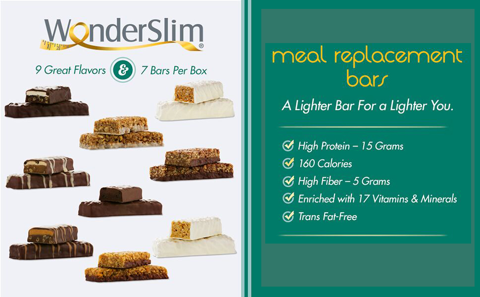 meal replacement bar high protein low calorie