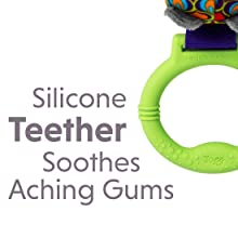 Soft Silicone Teether Soothes