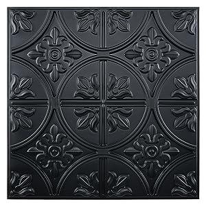 ceiling tile black