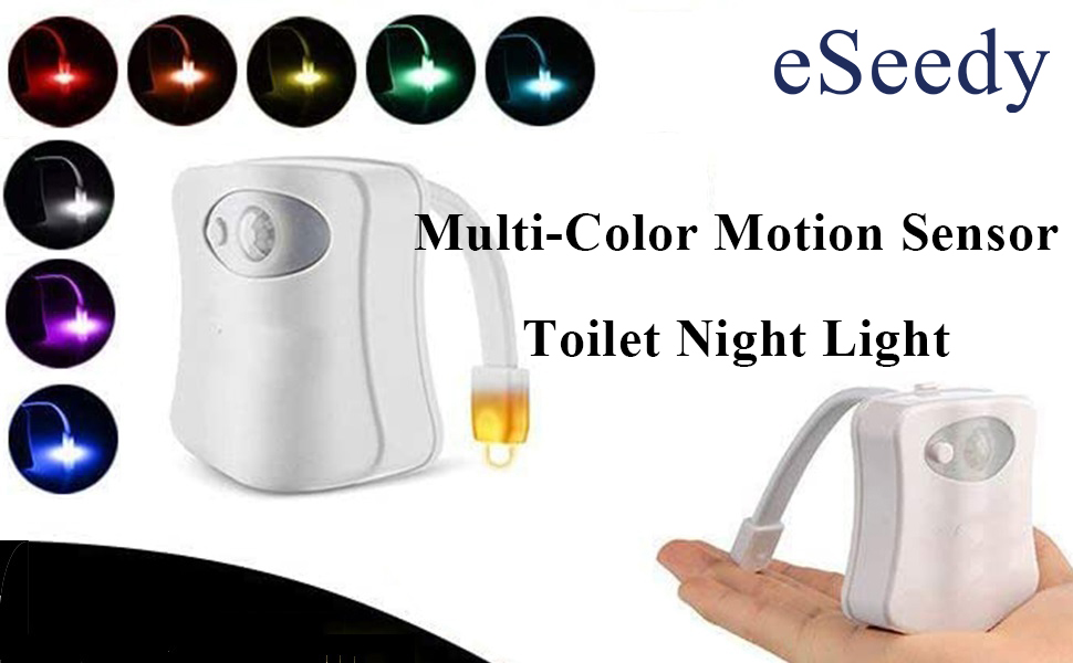 led motion sensor light night strip lights toilet battery outdoor solar bulb homelife under powered