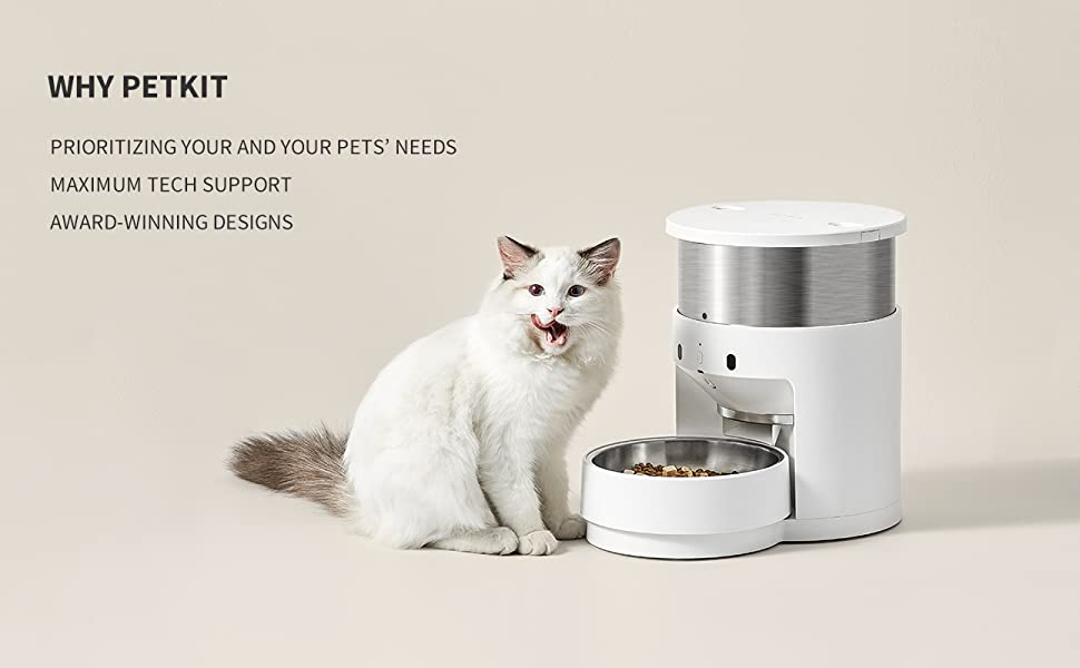 Automatic Food Dispenser for Cats and Dogs