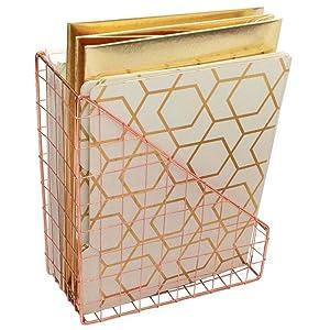 Rose Gold Magazine File