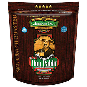 B00D5GGNRA  Don Pablo Colombian Decaf