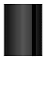 Arkero-G 4-Pocket Pro Binder Black Portfolio Schwarz 160 Karten Sammelalbum