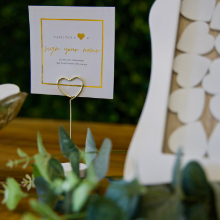 sign for guestbook
