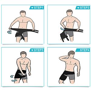 groin support brace