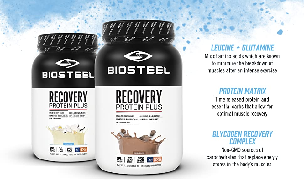 BioSteel Recovery Protein Plus