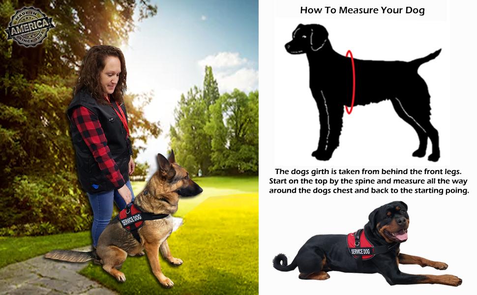 air tech vest measure instructions
