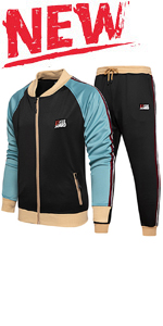 Men's Athletic Tracksuits