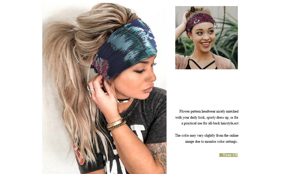 yoga hair bands