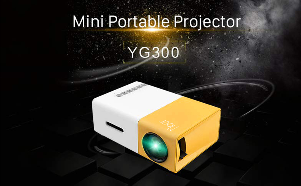 Meer YG300 Portable Mini LED Projector