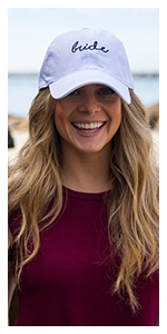 bride dad hat unconstructed low profile polo style 100% cotton baseball cap