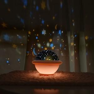 Owoda Lampara Proyector Estrellas+Luz de Nocturna 2 in 1,Cielo ...