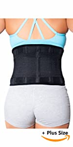 back brace plus size