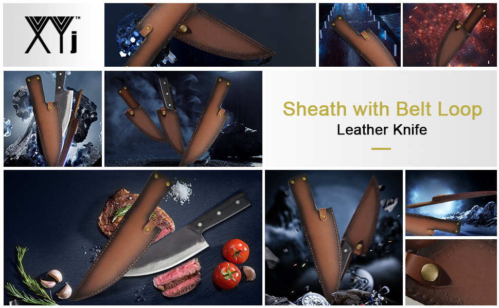 leather knife case