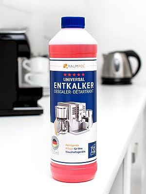 Descalcificador para cafetera 3x 750ml - máquina de café automatica compatible con marcas Delonghi, Jura, Nespresso Dolce Gusto, Senseo: Amazon.es: Salud y cuidado personal