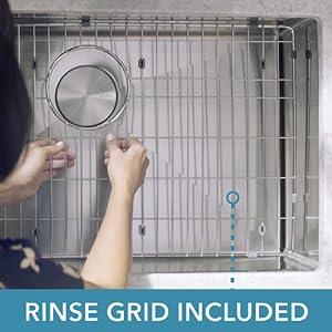 Rinse Grid