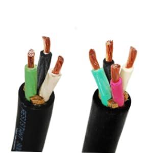 16-3 SOOW, 16/3, 250ft, 50ft, Black, Bulk Cable, Bulk Multiconductor, SOOW, 16/4, 16-4