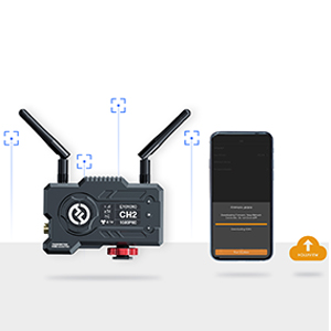 Channel Scan & Firmware Updated On APP