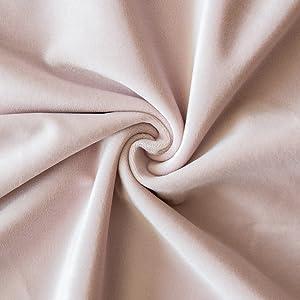 velvet fabric plush material