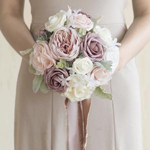 dusty rose bridal bouquet