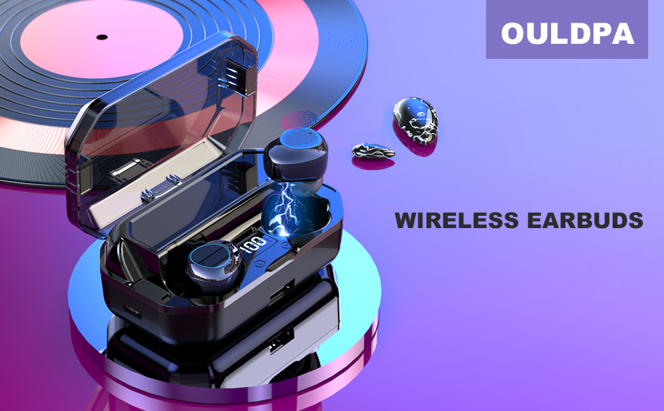 True Wireless Earbuds with Bluetooth 5.0 Technology