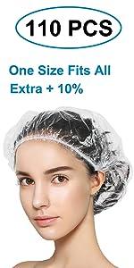 disposable shower caps 110pcs