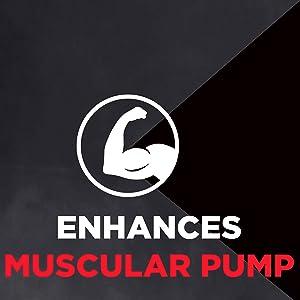 Enhances Muscular Pump