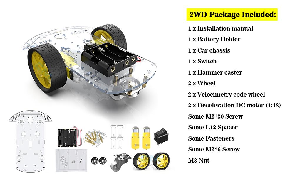 robot chassis kit