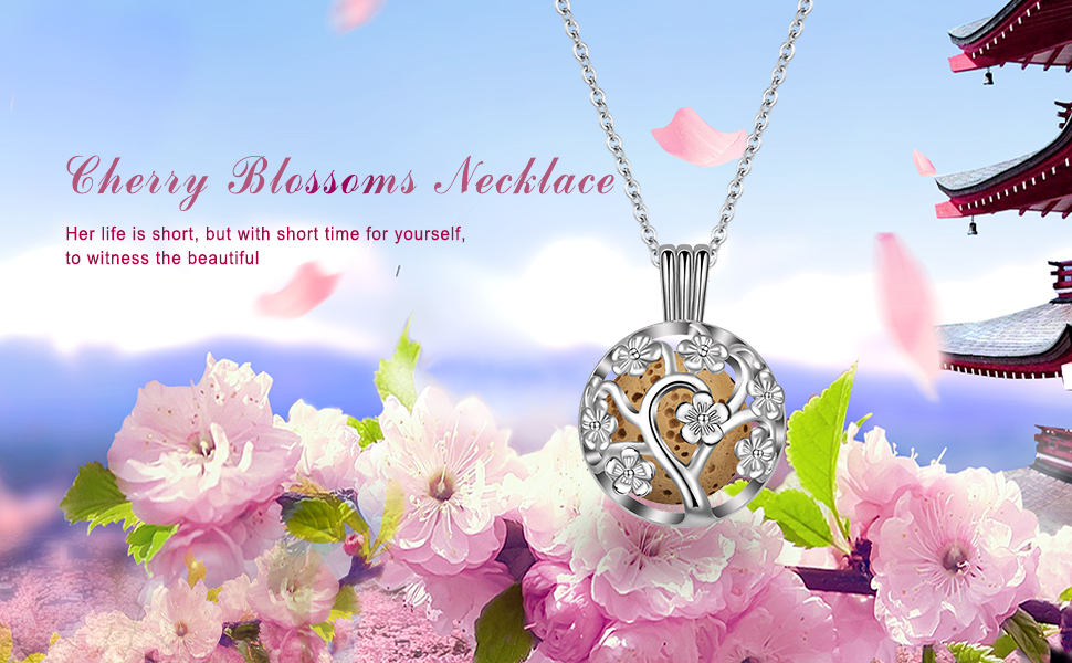 Aromatherapy Essential Oil Diffuser Women Necklace