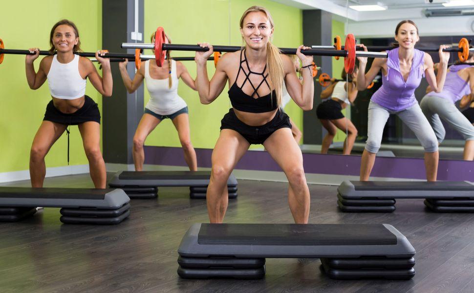 POWRX - Escalón Juego de XXL Fitness Profesional Aerobic Step ...