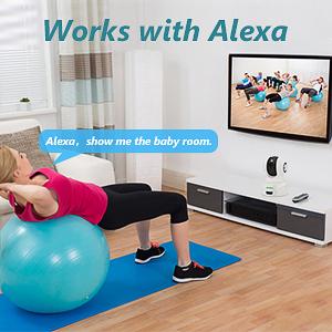 camera works with Alexa