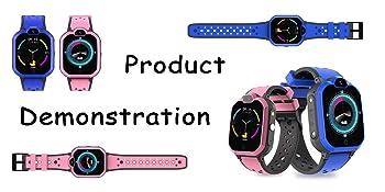 Kids Smartwatch Phone 4G Anti-Lost WiFi LBS GPS Tracker Game Watch Waterproof