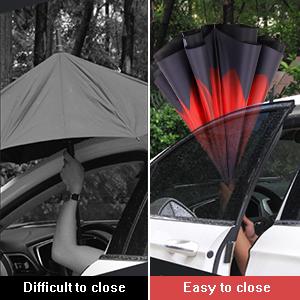 My Daily Star Reindeer Christmas Travel Auto Open//Close Umbrella with Anti-UV Windproof Lightweight