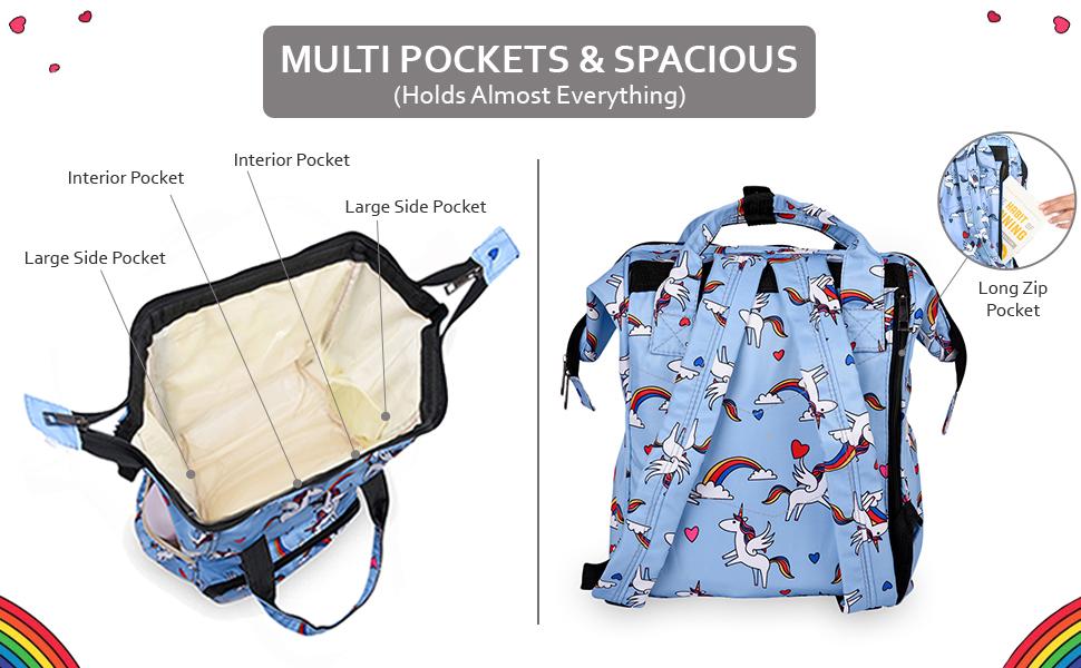 Baby diaper bag backpack combo essentials girl juniors kids newborn organiser set tote xl 6 month