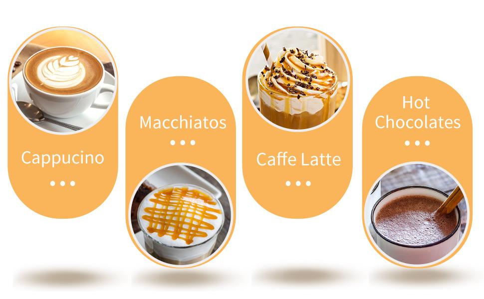 latte maker milk steamer