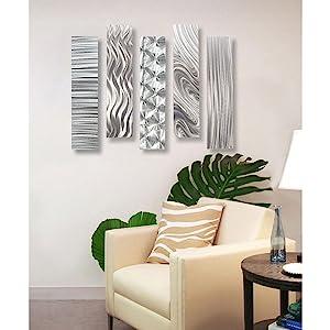 jon allen metal art statements2000 metal wall art hanging decor for living room dining modern unique
