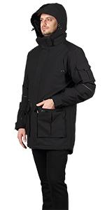heated jacket man