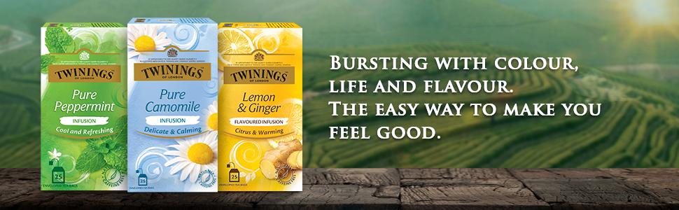 Twinings Pure Camomile Tea, 25TB